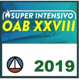 1ª Fase OAB XXVIII (28) – SUPERINTENSIVO CERS 2019.1