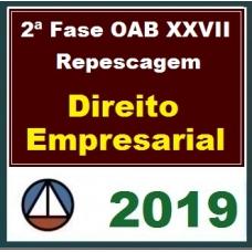 2ª Fase OAB XXVII – REPESCAGEM – DIREITO EMPRESARIAL – CERS 2019.1
