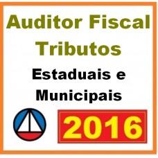 Curso para Concurso Auditor Fiscal de Tributo (Fiscais) Estaduais e Municipais (Fiscal ICMS e ISS) CERS 2016