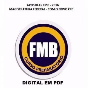 Curso para Concurso Apostila Magistratura E Mp Federal Novo Cpc FMB 2016