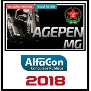 AGEPEN MG (AGENTE PENITENCIÁRIO) ALFACON 2018.2