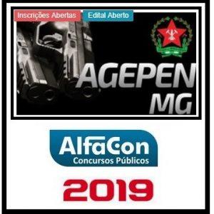 AGEPEN MG (AGENTE PENITENCIÁRIO) ALFACON 2019.2