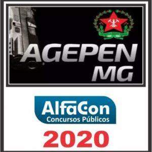 AGEPEN MG (AGENTE PENITENCIÁRIO) ALFACON 2020.1
