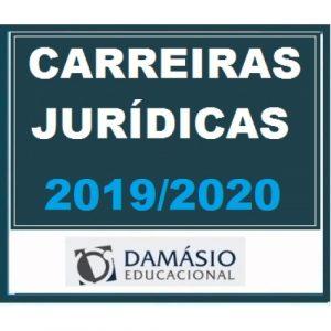 Carreiras Jurídicas Anual Extensivo Damásio 2019/2020