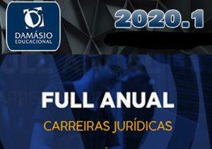 Carreiras Juridicas – Anual Full + Disciplinas Complementares – (STF, STJ, Procuradores, Desembargadores, Defensores, Delegados de Polícia) Damásio 2020.2