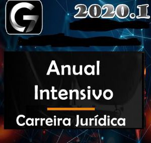Carreiras Jurídicas – Anual Intensivo: Intensivos I e II + Complementares + Legislação Penal – Carreira Juridica G7 2020.1