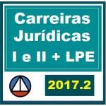 Carreiras Jurídicas + Complementares + Legislação Penal Especial LPE CERS 2017.2