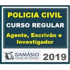 Carreiras Policiais – Escrivão, Agente e Perito Damásio 2019.1