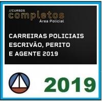 CURSO PARA CARREIRAS POLICIAIS ESCRIVÃO, PERITO E AGENTE 2019.1