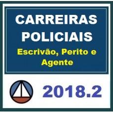 CURSO PARA CARREIRAS POLICIAIS – ESCRIVÃO, PERITO E AGENTE CERS 2018.2