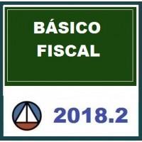CURSO BÁSICO PARA ÁREA FISCAL – CERS 2018.2