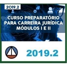 CURSO COMPLETO PARA CARREIRA JURÍDICA MÓDULOS I E II – REVISTO E ATUALIZADO CERS 2019.2