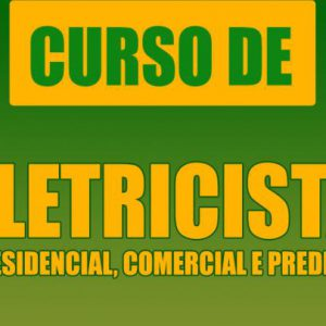 Curso Eletricista Residencial,industrial Completo Senai