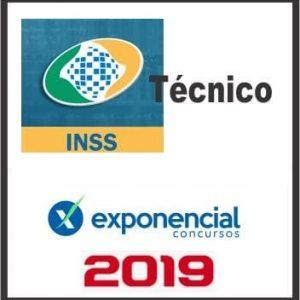 INSS (TÉCNICO) EXPONENCIAL 2019.1
