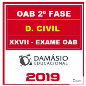 OAB 2 FASE XXVII (CIVIL) DAMÁSIO 2018.2