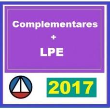 CURSO PARA MATÉRIAS COMPLEMENTARES CARREIRA JURÍDICA FEDERAL + LEGISLAÇÃO PENAL ESPECIAL CERS 2017.1