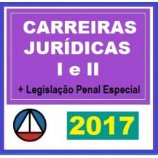 CURSO PARA CARREIRA JURÍDICA MÓDULOS I E II CERS 2017.1