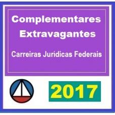 CURSO PARA MATÉRIAS COMPLEMENTARES PARA CARREIRAS JURÍDICAS FEDERAIS CERS 2017.1