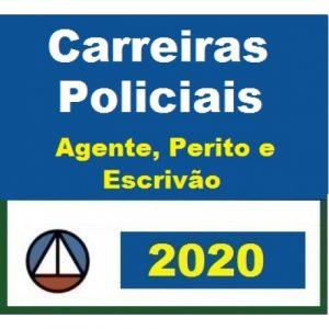 CURSO PARA CARREIRAS POLICIAIS – ESCRIVÃO; PERITO E AGENTE – PRIMEIRA AULA GRÁTIS CERS 2020.1