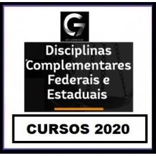 G7 Jurídico – Disciplinas Complementares para Carreiras Jurídicas G7 2020.1