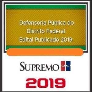 DPE-DF (DEFENSOR PÚBLICO) PÓS EDITAL SUPREMO 2019.1