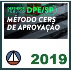 DPE SP – Método (Defensou Público São Paulo) CERS 2019.1