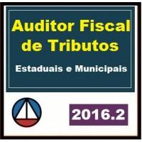 CURSO PARA CONCURSO PREPARATÓRIO ESTADUAIS MUNICIPAIS AUDITOR FISCAL TRIBUTOS ICMS FISCAL ISS 2016.2