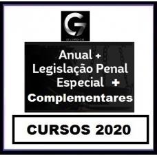G7 Jurídico – SUPER COMBO Anual – INTENSIVOS I e II + LPE + COMPLEMENTARES Estaduais e Federais G7 2020.1