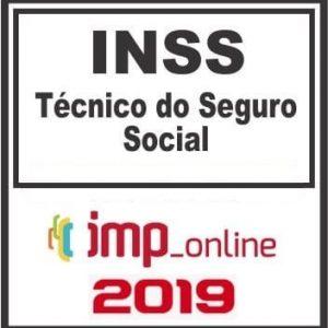 INSS (TECNICO DO SEGURO SOCIAL) IMP 2019.1