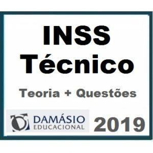 INSS Técnico do Seguro Social (Teoria + Questões) – DAMÁSIO 2019.1