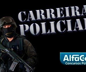 Curso para Concurso Matérias Carreiras Policiais Alfa Concursos 2016