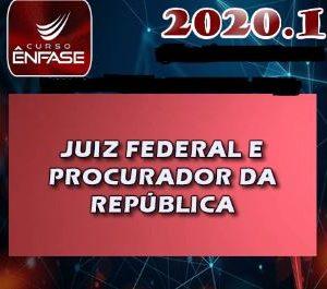 MPF 2020 – Magistratura – Juiz Federal e Procurador da República – Enfase 2020.1