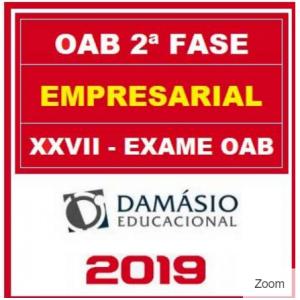 OAB 2 FASE XXVII (EMPRESARIAL) DAMÁSIO 2018.2