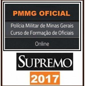 PM MG – OFICIAL – POLÍCIA MILITAR MINAS GERAIS (POS EDITAL) SUPREMO TV 2018