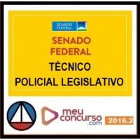 CURSO PARA CONCURSO SENADO FEDERAL TÉCNICO LEGISLATIVO ÁREA DE POLÍCIA LEGISLATIVA MEU CONCURSO 2016