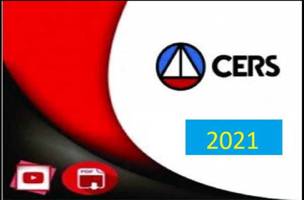 Carreiras Jurídicas CERS - rateio de concursos 2021.1