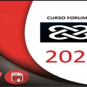 Carreiras Jurídicas – Forum 2021.1 - rateio de concursos