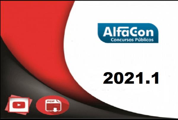 PC PR (Delegado) Alfacon 2021.1 - rateio de concursos