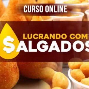 LUCRANDO COM A VENDA DE SALGADOS - ANDRÉ ALMEIDA 2021